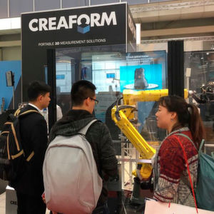 Creaform, a world leader in automated and portable 3D metrology solutions, is focusing on automated quality control at this year's Hannover Messe, which is getting more and more important in the manufacturing industry and Industry 4.0.
