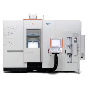 The new Mikron Mill P 500 U and Mikron Mill P 800 U five-axis simultaneous milling machines provide tool and mould makers the flexibility they need for the future. Optimised for intelligent productivity and accuracy, they translate manufacturers' current challenges into tomorrow's applications.