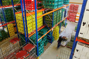 The FiFo principle is used, for example, in the food industry. It ensures that goods in the warehouse do not spoil and remain edible.