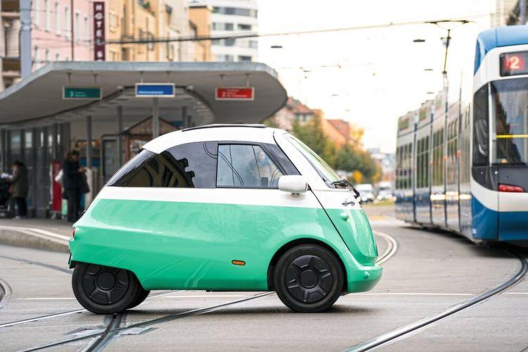 Angetrieben Wird Das Elektroauto Von Einem 15 Kw Starken