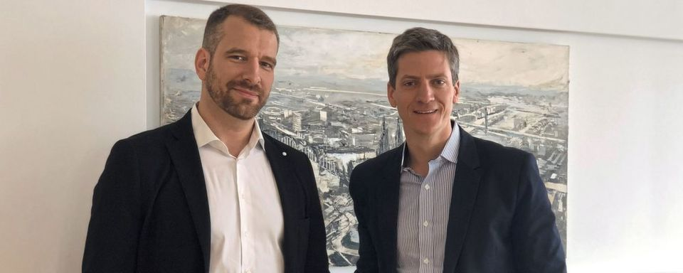 Daniel Küpper (re.), Partner und Managing Director bei der Boston Consulting Group, Christoph Sieben, Project Leader, ebenfalls bei der Boston Consulting Group.