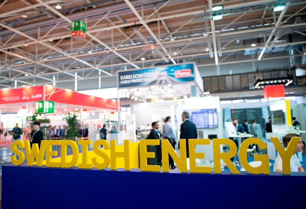 Energy: Leading international trade fair for integrated energy systems and mobility. Swedish Energy Plaza, partner country