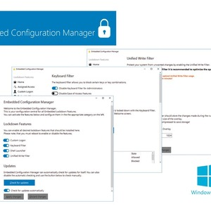 Configuration-Tool für Windows 10