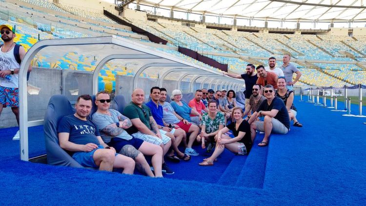 Besuch des Maracana-Stadions
