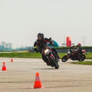 Ducati Riding Academy: Take control