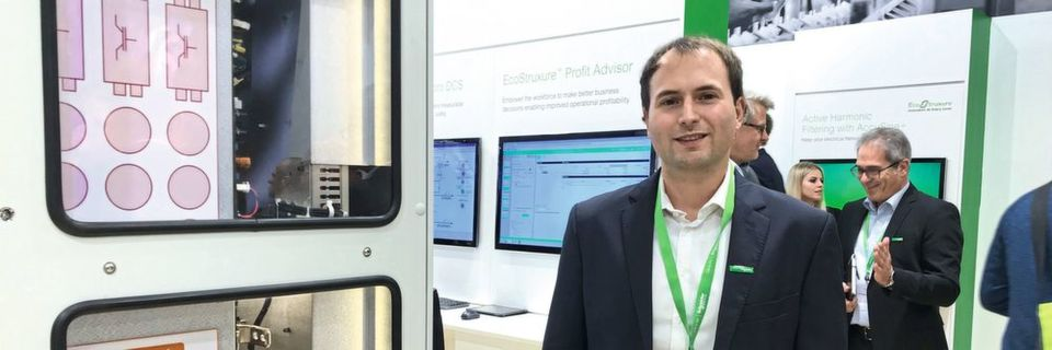 Niels Wessel, Product Manager Process Drives bei Schneider Electric