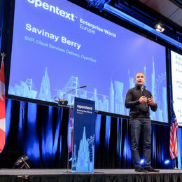 OpenText Enterprise World Europe