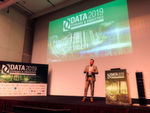 "In der ersten Keynote der #datatechcon legt Albrecht Stäbler los mit dem Thema ""Big Data & Analytics – oder die Gier nach Performance, Storage und Bandbreite""."