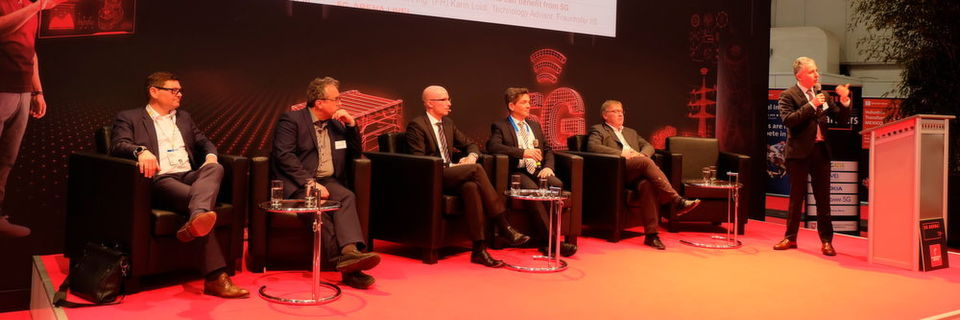 Building the Industrial 5G Ecosystem - The fusion of OT and ICT Industries and the role of 5G-ACIA: Podiumsdiskussion am 1. April im Rahmen der 5G-Arena