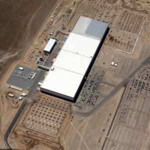 Teslas Gigafactory in Nevada.
