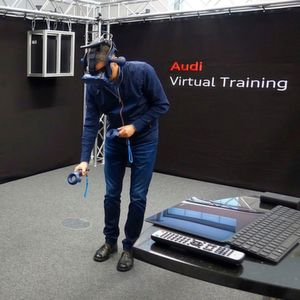 Audi schult Mechatroniker mittels Virtual Reality
