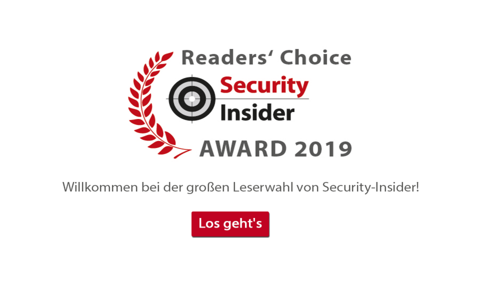Security-Insider Umfrage - 2019