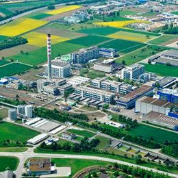 The biomass power plant supplies steam to the production facility of DSM Nutritional Products in Sisseln and other non-DSM production sites.