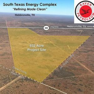 South Texas Energy Complex Map (Duval County, TX)