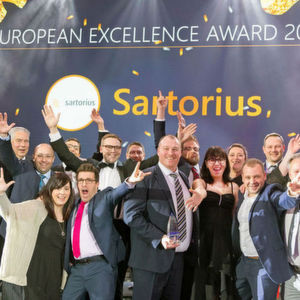 Sartorius Repeats Double Award Winning Success at Fisher Scientific Europe