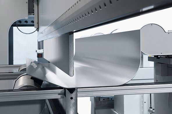 LVD's Synchro-Form press brakes enable precise and repeatable bending.