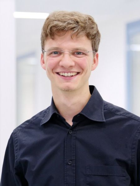 Gewinner des Young Engineer Award Christoph Marczok (Deutschland).