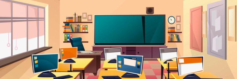 Der Bildungsbereich schneidet in puncto Cybersicherheit schlecht ab.