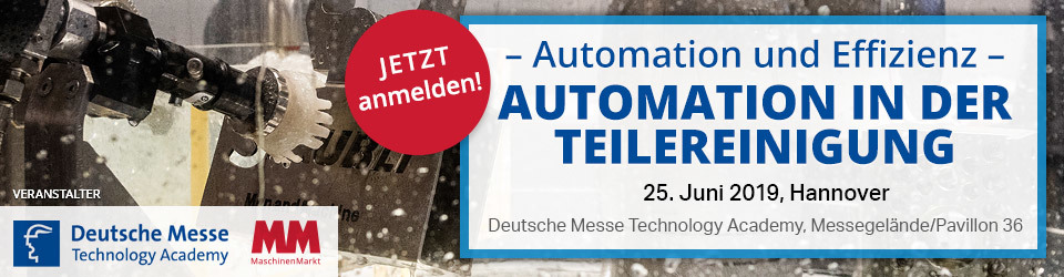 Automation in der Teilereinigung - Technology Academy Group