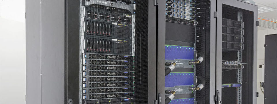 "Der ""Deep-Est""-Prototyp am Jülicher Supercomputing Center (JSC)."