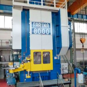 Schuler's newly acquired Italian forging specialist Farina offers production lines with press forces between 750 and 8,000 metric tonnes.