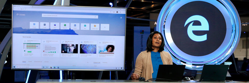 Präsentierte Edge auf der Build 2019: Divya Kumar, Group Product Marketing Manager bei Microsoft.