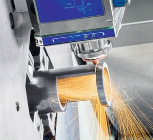 BLM offers solutions for the laser cutting of tubes.