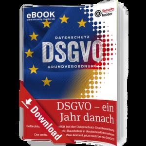 eBook: DSGVO - ein Jahr danach