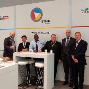 The ISTMA Lounge was the hotspot of many interesting keynotes and subsequent discussions.