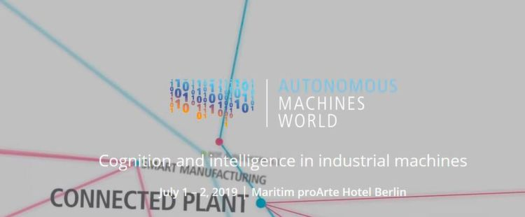 Autonomous Machine World Vom 1. bis zum 3. Juli tagt die Autonomous Machine World in Berlin. Das