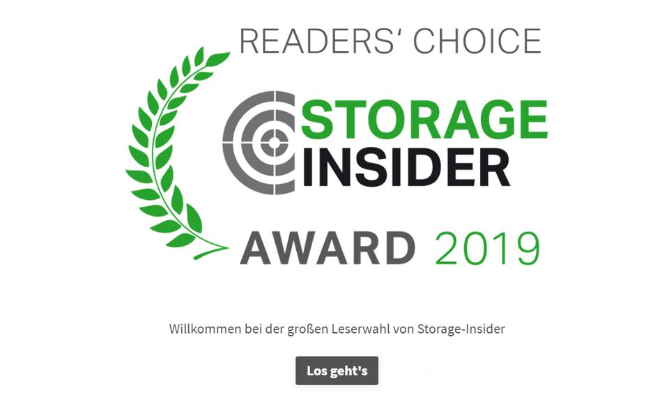 Storage-Insider Umfrage - 2019