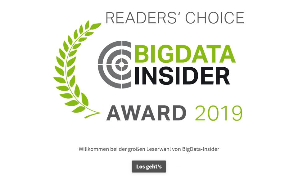 BigData-Insider Umfrage - 2019