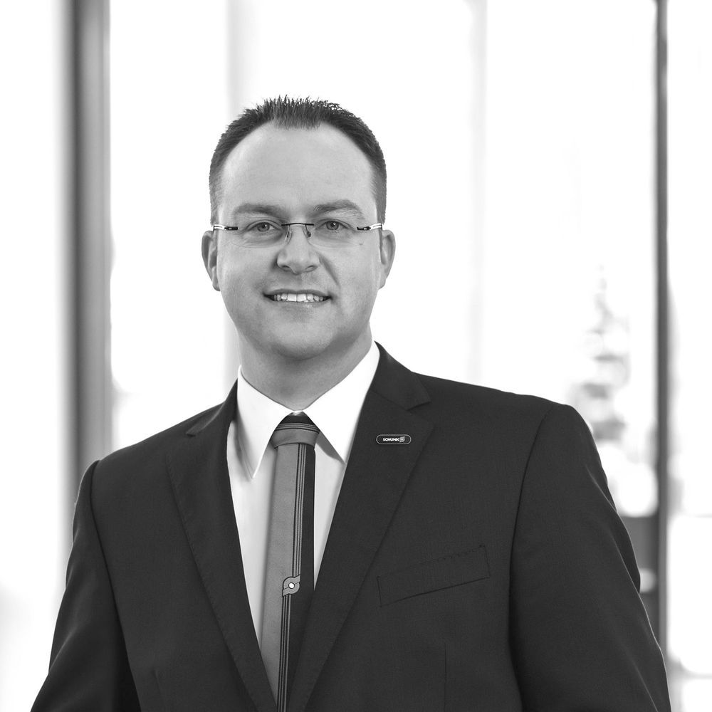 Marcel Nagel ist Head of Product & Portfolio Management for digital Products & product-related Services, SCHUNK