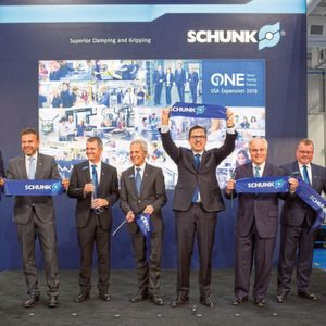Schunk is investing 85 million euros in its production sites