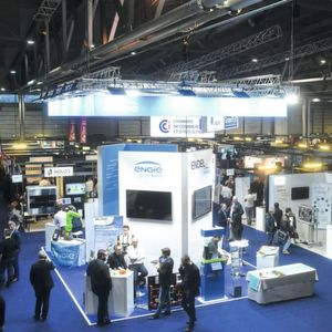 Whether large corporations or start-ups, numerous companies presented their offerings on the subject of Industry 4.0 at the Be 4.0 trade fair.