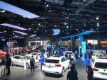Unlike the major European motor shows, the halls are bursting at the seams.