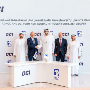 Adnoc and OCI to Form Largest Export-Focused Nitrogen