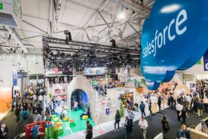 Halle 6, salesforce, adobe, google, DMEXCO 2018