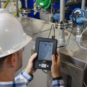Emerson's Radar Master app for the AMS Trex Device Communicator simplifies set-up of Rosemount radar level devices in the field.