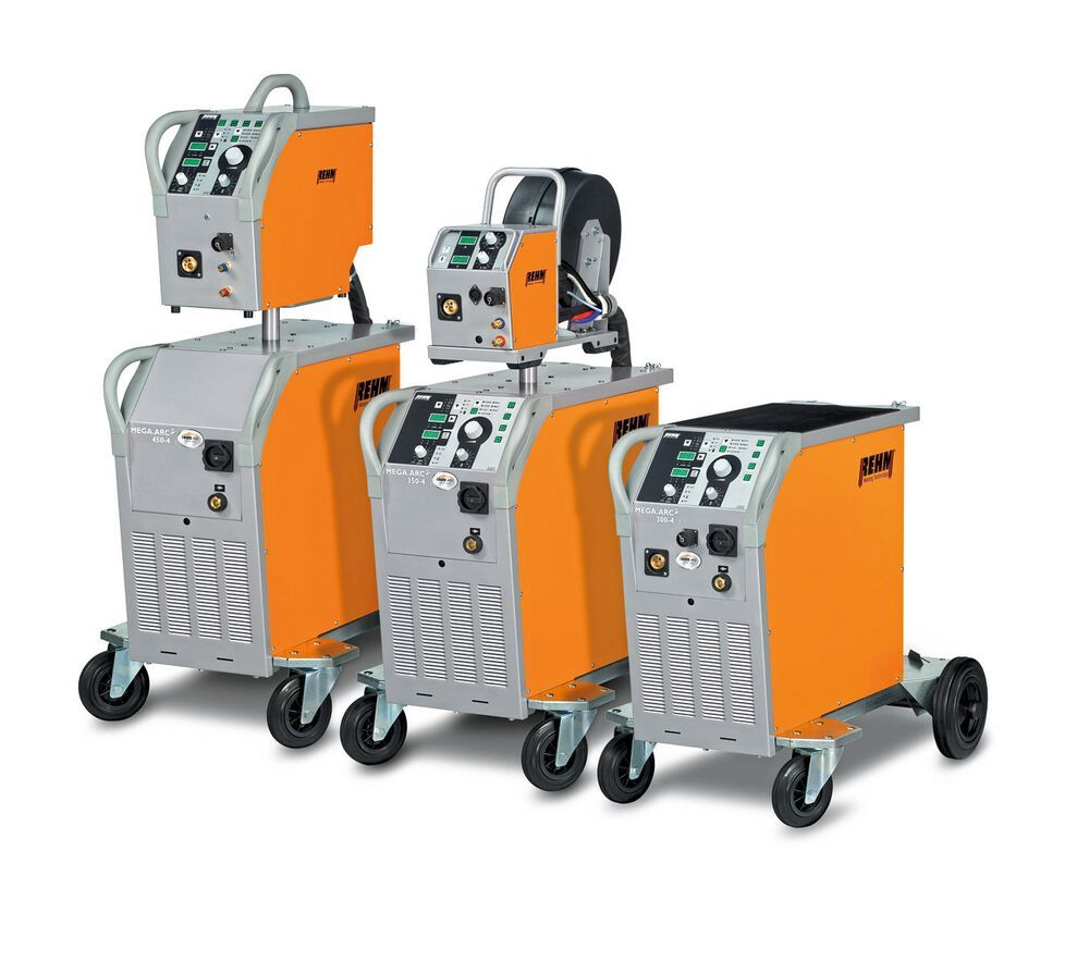 The Mega Arc 2 series with Focus Arc and SDI-Plus for MAG welding from Rehm. Focus