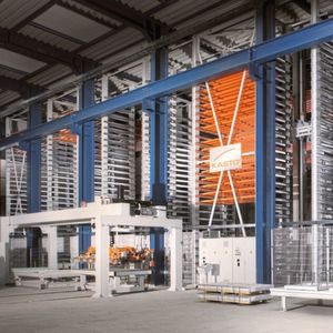 Saw/Warehouse Combination for smart metal processing