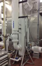 "The self-cleaning filter protects the Glycol Chiller of an american ""co-