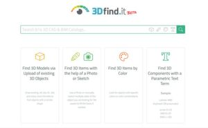 The search engine 3Dfind.it.