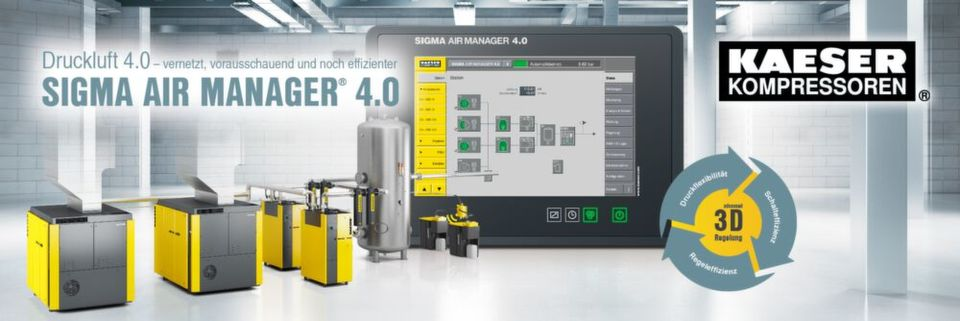 KAESER KOMPRESSOREN is a supplier of products, services and complete systems for using compressed air as an energy source in production and work processes.