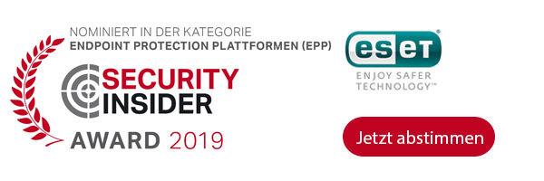 ESET ist nominiert für die IT-Awards