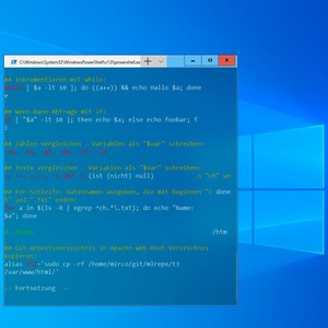 Windows Terminal Preview in Windows 10