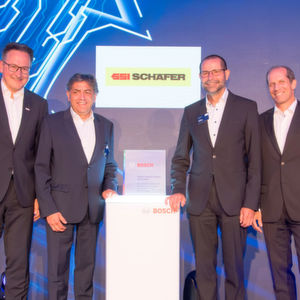 "SSI Schäfer erhält ""Bosch Global Supplier Award"""
