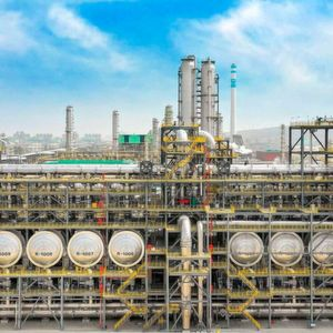 Hengli Group's new dehydrogenation plant in Dalian, China is designed to produce over one million tons of olefins per year.