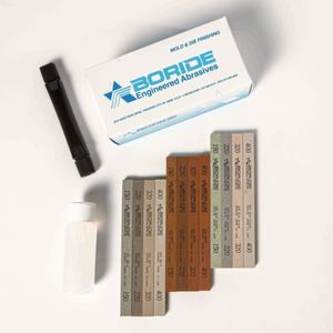 Boride adds more polishing stone kit options