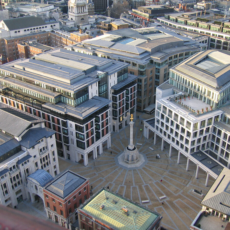 London Stock Exchange am Paternoster Square